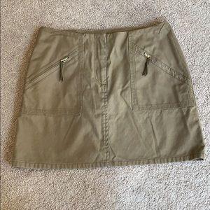 Vince canvas mini skirt, size 4